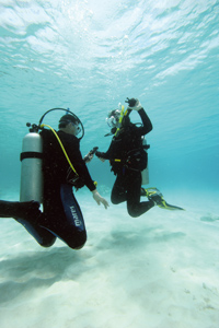 Plongée flottabilité ADVANCED OPEN WATER DIVER ou ADVENTURER