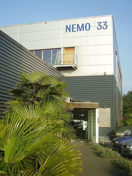 Salle a louer a NEMO33 Bruxelles, facade de l'immeuble